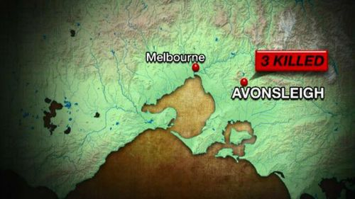 The accident happened at Avonsleigh. (9NEWS)