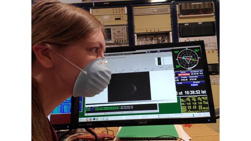 Giant 'face mask' asteroid to fly past Earth on Wednesday night