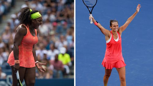 Italian Roberta Vinci defeats world number one Serena Williams in US Open semi final