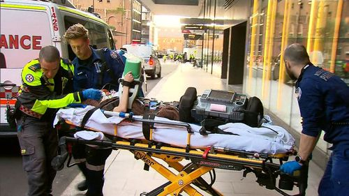 The 35-year-old patient was hospitalised in a critical condition. (9NEWS)