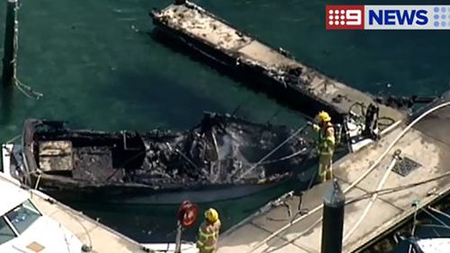 Elderly man taken to hospital after Blairgowrie boat fire