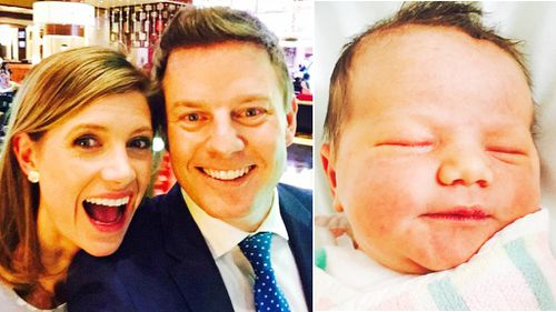 Ben Fordham and Jodie Speers announce birth of their daughter