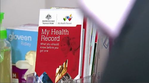 The My Health Record system has been met with worry after it was revealed police could access private health data without a court warrant. Picture: 9NEWS.