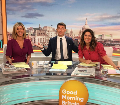 Kate Garraway works on Good Morning Britain.