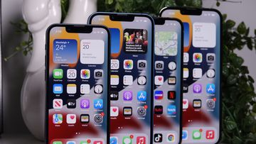 On the Pro models of the iPhone 13 you also get ProMotion on the display.