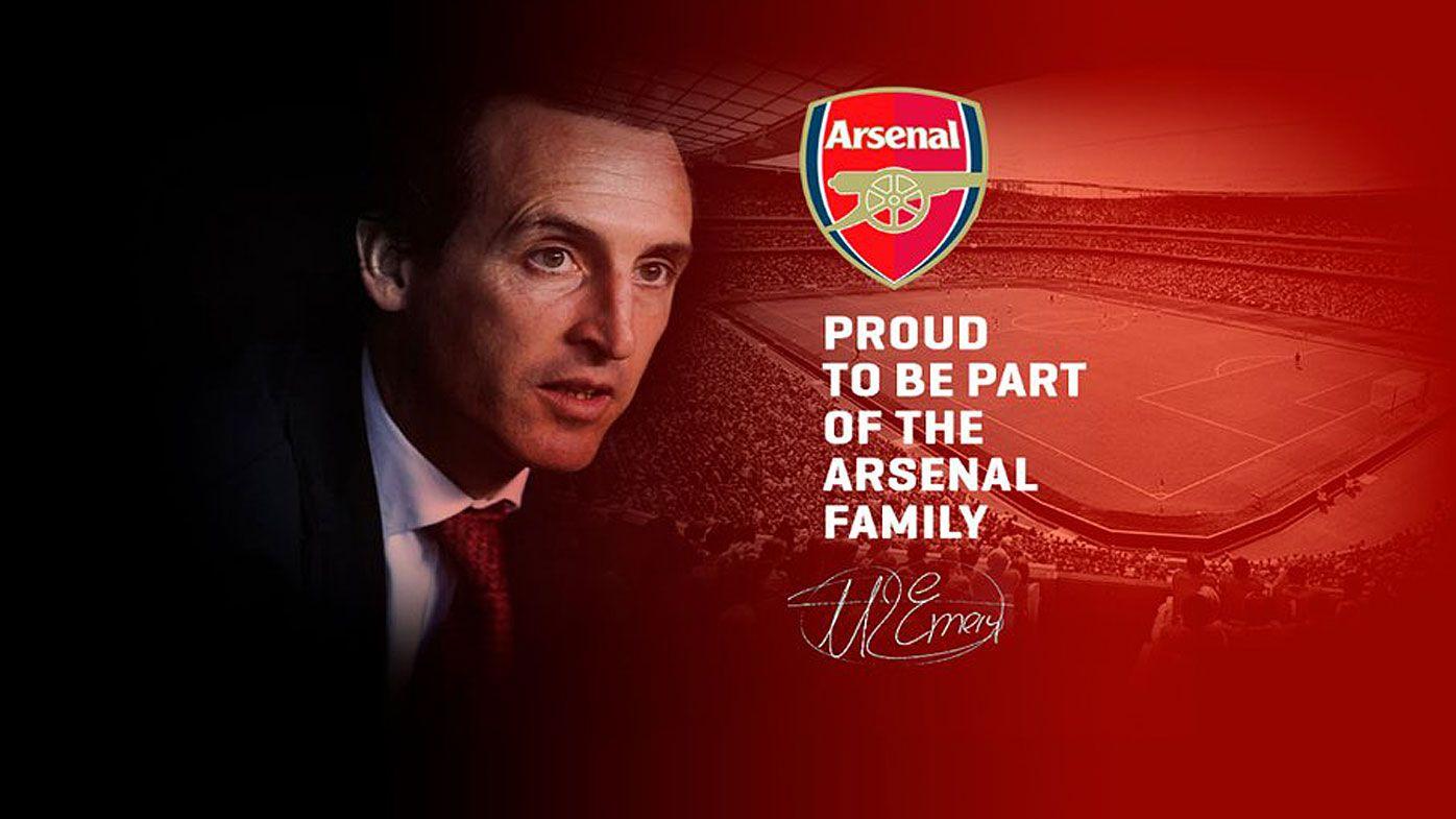 Unai Emery's website accidentally 'confirms' Arsenal job