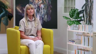 Terri Irwin breaks down as she recalls Steve Irwin predicted his life 'would be cut short'