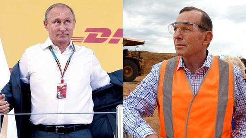 Abbott to 'shirtfront' Putin over MH17