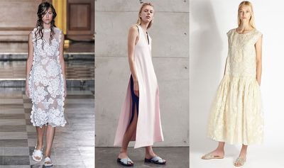 """<p>Ever since Rochas reintroduced the humble slide with crunchy jewels for Resort 2015, its been a firm fixture in the fashion zeitgeist. Now that spring's a hot second away (and your feet are <a href=""""http://honey.ninemsn.com.au/2015/08/18/09/03/foot-work"""" target=""""_blank"""">suitably prepped</a>), it's time to shop the chic-yet-relaxed shoe style.</p>"""