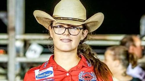 Katelyn Simpson has also been the target of vicious cyber bullies, her dad says. (Spokz Photography, Noonamah Tavern & Rodeo)
