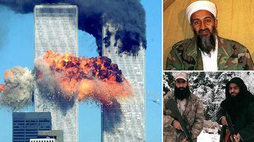 The 9/11 attack on New York's World Trade Centre; Osama bin Laden, the now dead former leader of Al Qaeda; and Australian Abu Sulayman, now located in Syria with Al Qaeda.