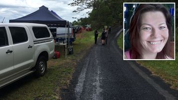 Mum's killer leads police to human remains