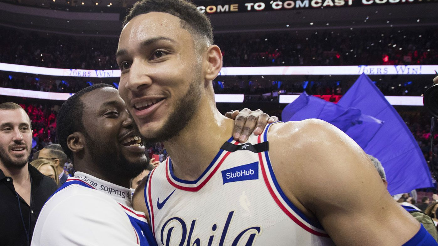 Philadelphia 76ers Ben Simmons' wins NBA rookie of the year