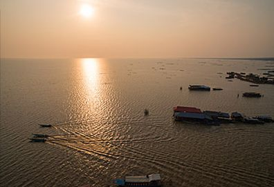 Largest freshwater lake in South-East Asia (Getty)