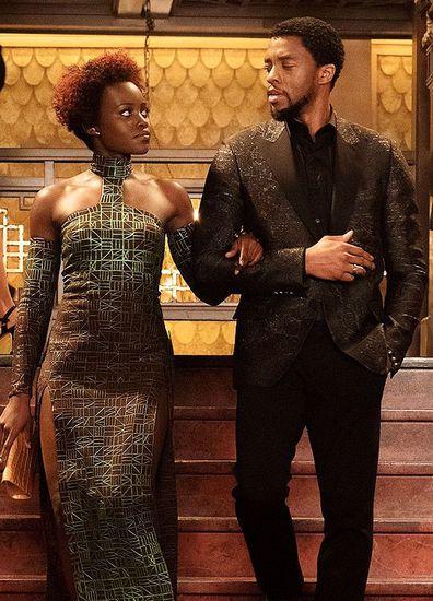 Lupita Nyong'o, Chadwick Boseman, film Black Panther
