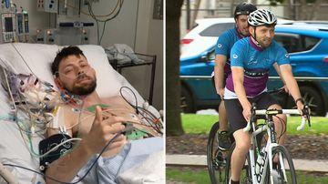Victoria Silo Art Trail heart transplant organ donation charity ride