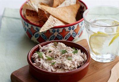 Tuna and cream cheese dip