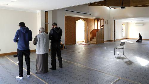 The refurbished Al Noor mosque this week.