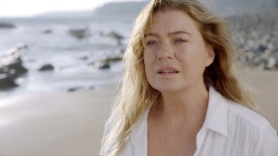 Ellen Pompeo in season 17th premiere for Grey's Anatomy.