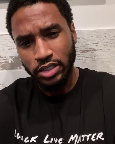 Singer Trey Songz reveals coronavirus diagnosis.