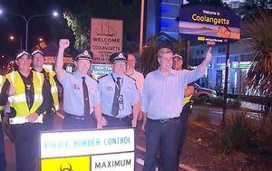 Queensland's border with Greater Sydney and Victoria reopens to cheers and hugs