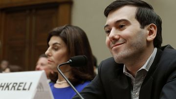 """The Brooklyn-born entrepreneur became known as the """"Pharma Bro"""" in September 2015 after founding Turing Pharmaceuticals, buying the anti-parasitic drug Daraprim and raising its price by 5000 per cent to $US750 per pill."""