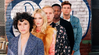 The beloved cast of Search Party.