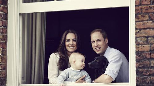 Royals release new family photo