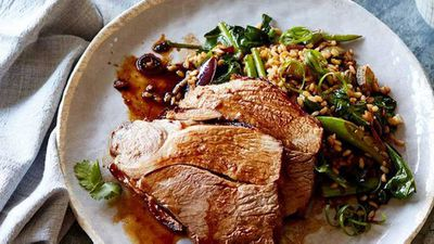 "Recipe: <a href=""http://kitchen.nine.com.au/2017/02/16/09/40/sticky-asian-lamb-with-sesame-fried-rice"" target=""_top"">Sticky Asian lamb with sesame fried brown rice</a>"