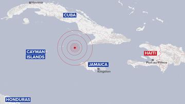 Earthquake Cuba, Jamaica