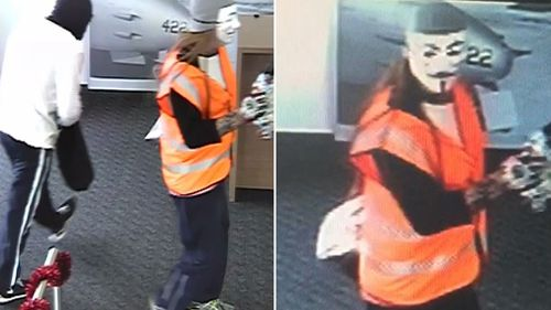 One of them was believed to have been armed when the pair made demands from cash. (Victoria Police)