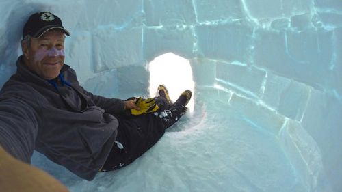 David Wood died after falling into a crevasse in Antarctica in January 2016. (davidwarburtonwood.com)
