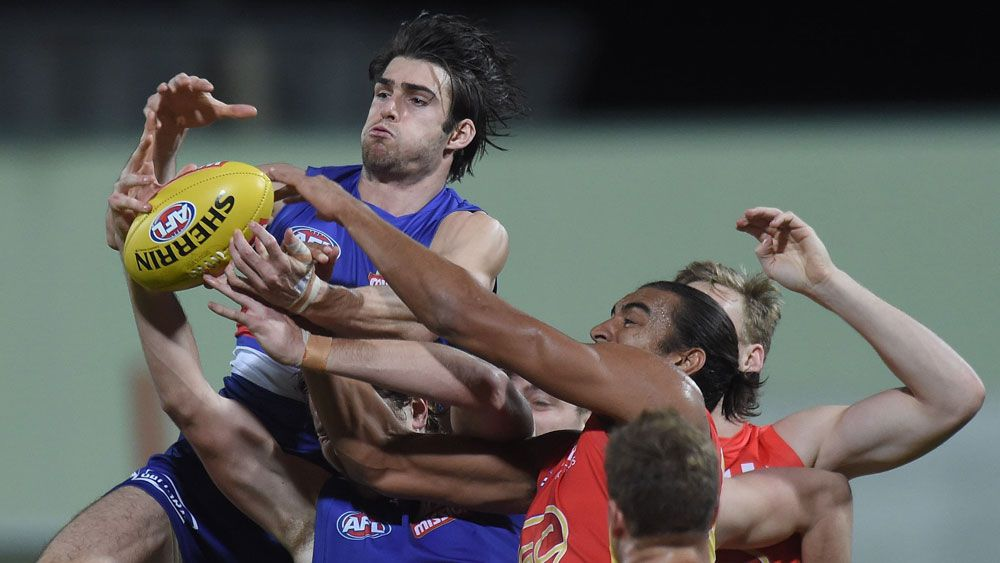 Dogs too good for Suns in AFL in Cairns