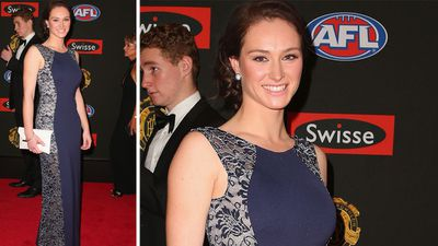 Tara Pearce was spotted with her beau, Danyle Pearce, at the Crown Palladium. (AAP)