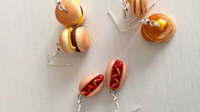 "<strong>Fast Food Earrings - various</strong>, $28, <a href=""https://www.etsy.com/au/listing/277528292/fast-food-earrings?ga_order=most_relevant&ga_search_type=all&ga_view_type=gallery&ga_search_query=food%20earrings&ref=sr_gallery_7"" target=""_top"">etsy.com/AU/</a>"