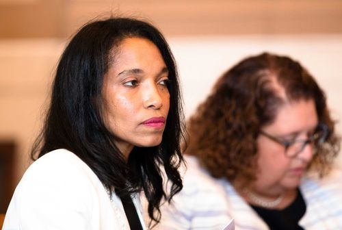 Prosecutors suggested former judge Tracie Hunter undergo a mental health assessment during her sentencing hearing in court today.