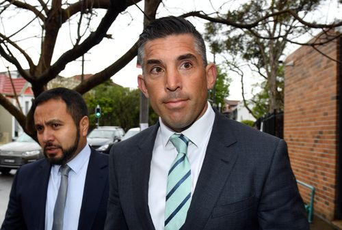 Braith Anasta has been given a 12 month good behaviour bond after pleading guilty to driving while suspended.