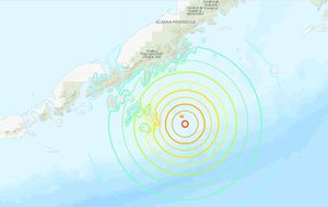 Tsunami alert issued after powerful 7.8 earthquake hits Alaska isles