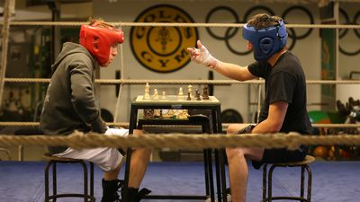Boxing chess sees two opponents pummel each other in the ring and between rounds sit down for games of chess.