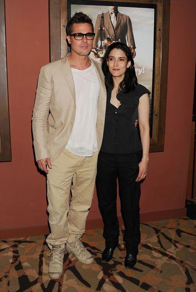 Brad Pitt attends 'Big Men' Los Angeles Special Screening at Sundance Sunset Cinema on March 26, 2014 in Los Angeles, California.