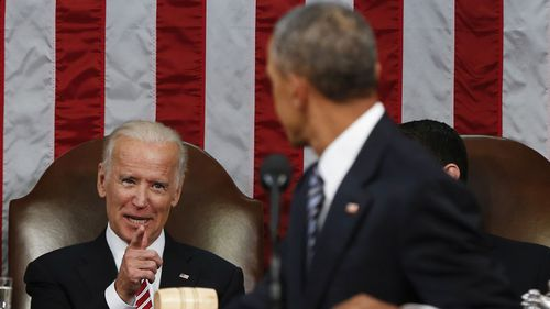 Joe Biden was Vice President under Barack Obama.