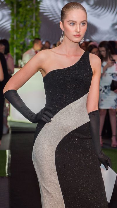 """Runway from the Darnell Collection at the opening of<a href=""""https://theartscentregc.com.au/gallery/coming-into-fashion/"""" target=""""_blank"""">Coming intoFashion at the Arts Centre Gold Coast.</a>"""