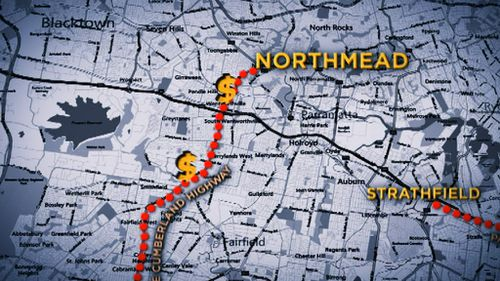 Cumberland Highway will also be improved between Warwick Farm and Northmead at a cost of $18 million. (9NEWS)