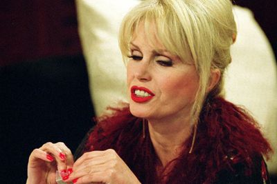 "<b>Played by: </b>Joanna Lumley<br/><br/>The chain-smoking, foul-mouthed, vodka-swigging former model hasn't eaten anything since 1973. Years of... ""lifestyle choices"" have loosened her grip on reality, and we love her for it.<br/><br/><b>What Patsy says: </b>""Poor old fat old thing. Look at her, like a beached whale in designer sheets."""