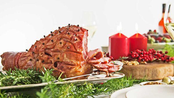 Moscato glazed ham