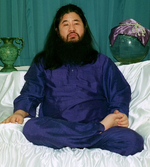 Doomsday cult boss Shoko Asahara, 63, real name Chizuo Matsumoto and several followers were executed on Friday for their roles in the 1995 gas attack on the Tokyo subway.