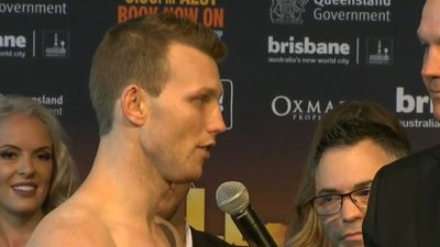Australian boxing champion Jeff Horn faster and stronger for Gary Corcoran world title fight, says Cameron Williams
