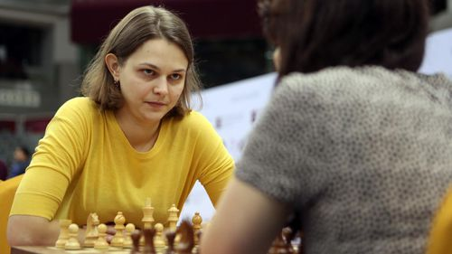 The 27-year-old represents Ukraine and is ranked number one in two speed disciplines - rapid and blitz. (Supplied)