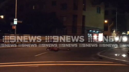 A witness contacted NSW Police who quickly rushed to the scene to intervene. (9NEWS)
