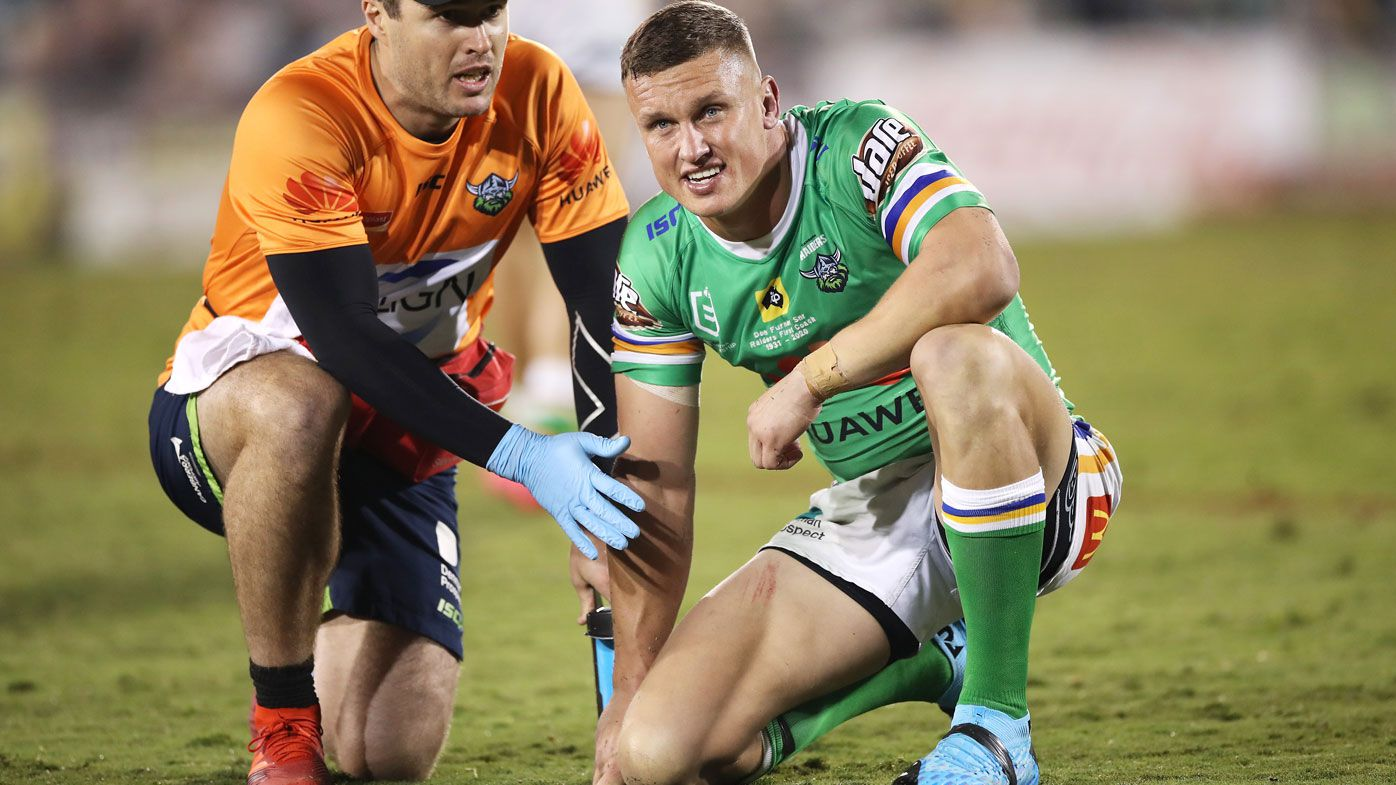 Raiders coach Ricky Stuart claims Jack Wighton is being taken out after kicking